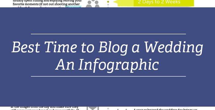 Best Time To Have A Wedding: When Is The Best Time To Blog A Wedding? An Infographic