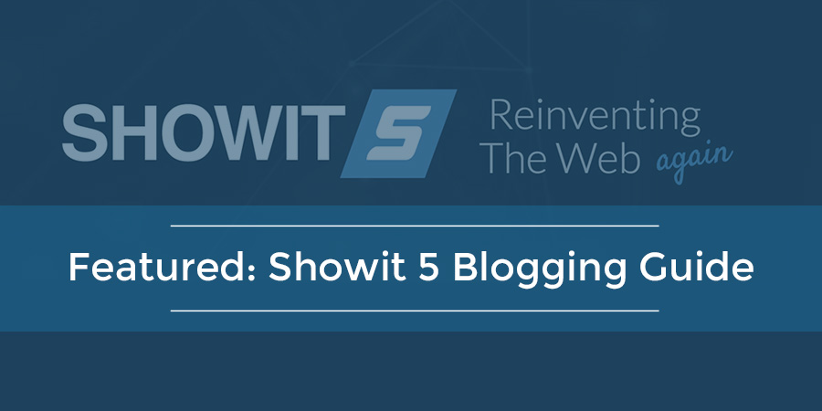 Featured: Showit 5 Blogging Guide