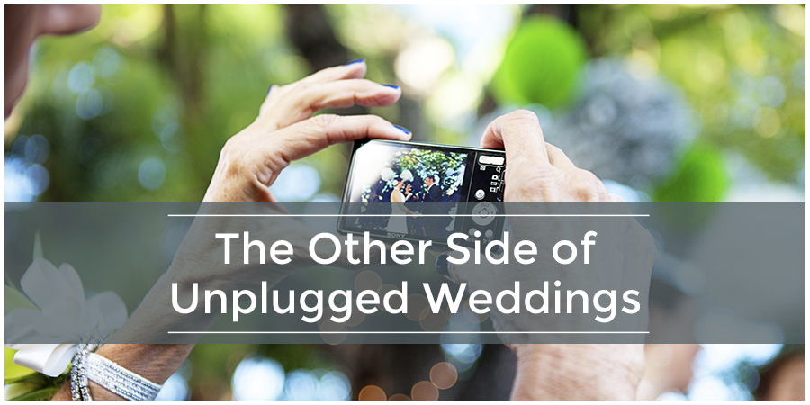 The Other Side of Capturing an Unplugged Wedding